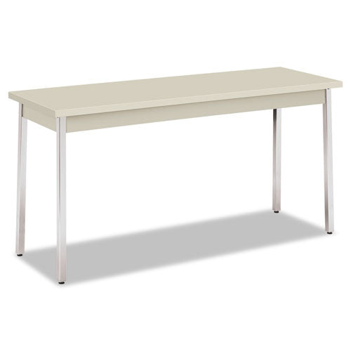 Utility Table, Rectangular, 60w x 20d x 29h, Light Gray