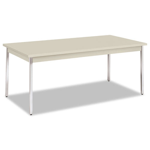 Utility Table, Rectangular, 72w x 36d x 29h, Light Gray