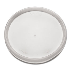 Plastic Lids, for 8, 12, 16oz Hot/Cold Foam Cups, Vented, 1000/Carton