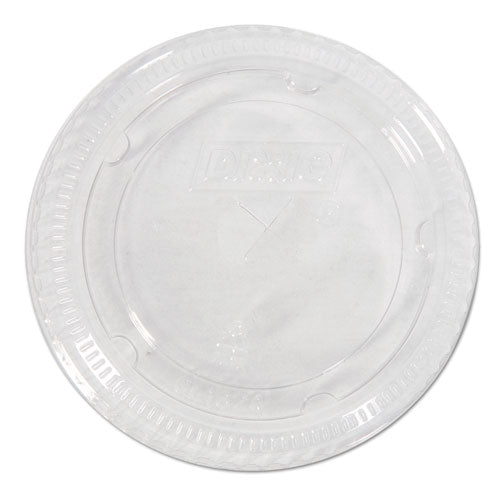 Cold Drink Cup Lids for 16-24 oz Plastic Cold Cups, Clear,100/Pk, 10Pk/Ctn