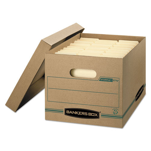 STOR/FILE Basic-Duty Storage Boxes, Letter/Legal Files, 12.5