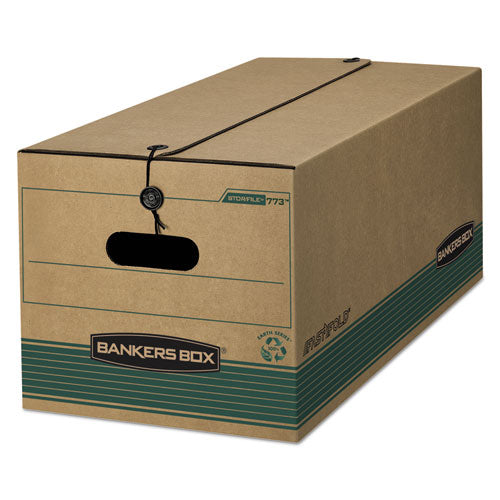 STOR/FILE Medium-Duty Strength Storage Boxes, Letter Files, 12.25