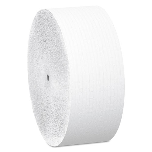 Essential Coreless JRT, Septic Safe, 1-Ply, White, 2300 ft, 12 Rolls/Carton