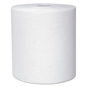 "Essential Plus Hard Roll Towels 8"" x 600 ft, 1 3/4"" Core dia, White, 6 Rolls/CT"