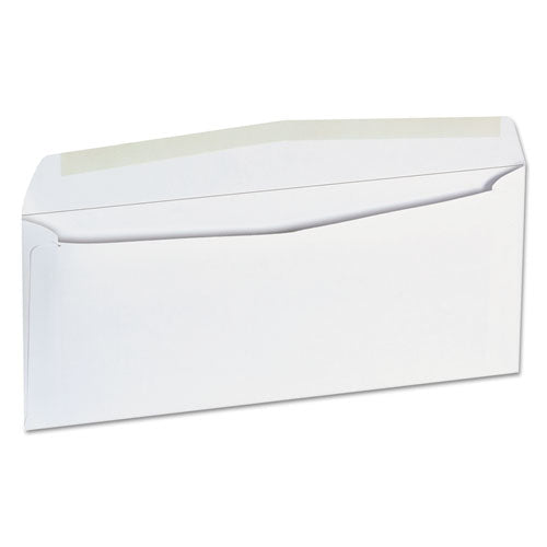 Business Envelope, #9, Cheese Blade Flap, Gummed Closure, 3.88 x 8.88, White, 500/Box