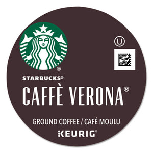 Caffe Verona Coffee K-Cups Pack, 24/Box