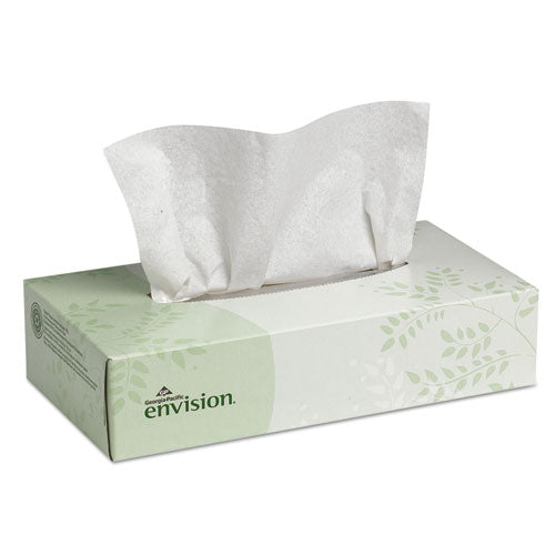 Facial Tissue, 2-Ply, White, 100 Sheets/Box,
