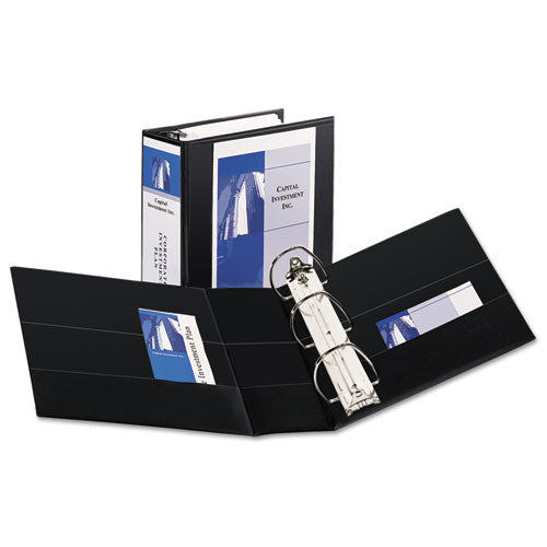 Durable View Binder with DuraHinge and EZD Rings, 3 Rings, 5