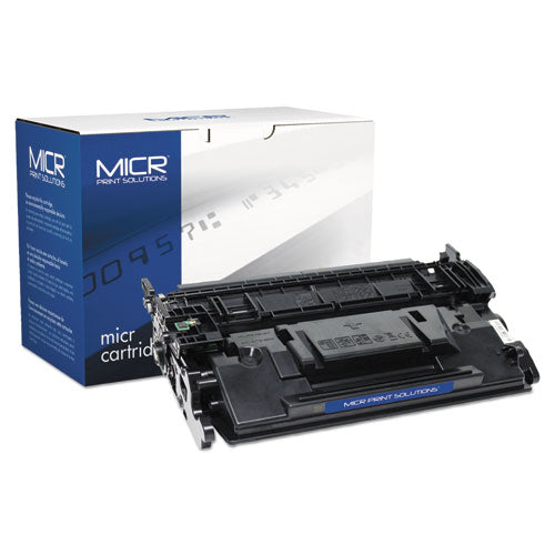 Compatible CF287A(M) (87AM) MICR Toner, 9000 Page-Yield, Black
