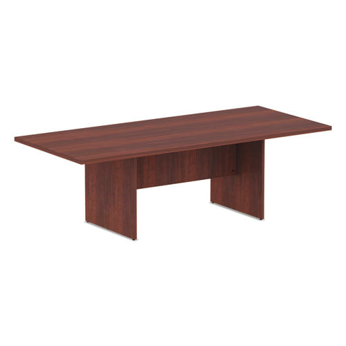Alera Valencia Series Conference Table, Rect, 94.5 x 41 3/8 x 29.5, Med Cherry