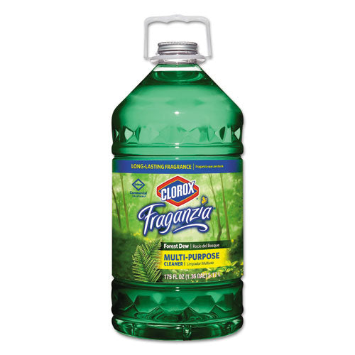 Fraganzia Multi-Purpose Cleaner, Forest Dew Scent, 175 oz Bottle