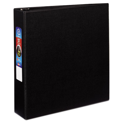 Heavy-Duty Non-View Binder with DuraHinge and Locking One Touch EZD Rings, 3 Rings, 2