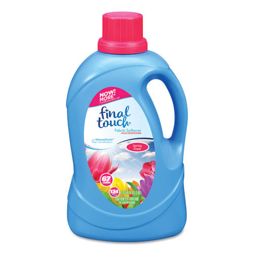 Scented Fabric Softener, Spring Fresh, 134 oz Bottle