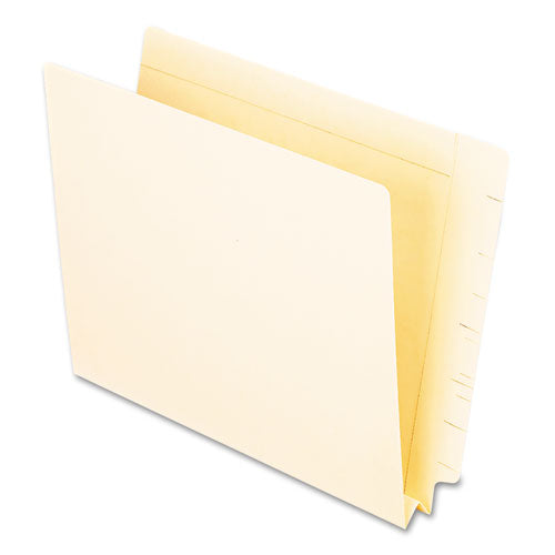 Manila End Tab Expansion Folders, Straight Tab, Letter Size, 50/Box