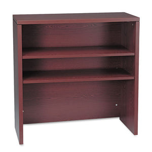 10500 Series Bookcase Hutch, 36w x 14.63d x 37.13h, Mahogany