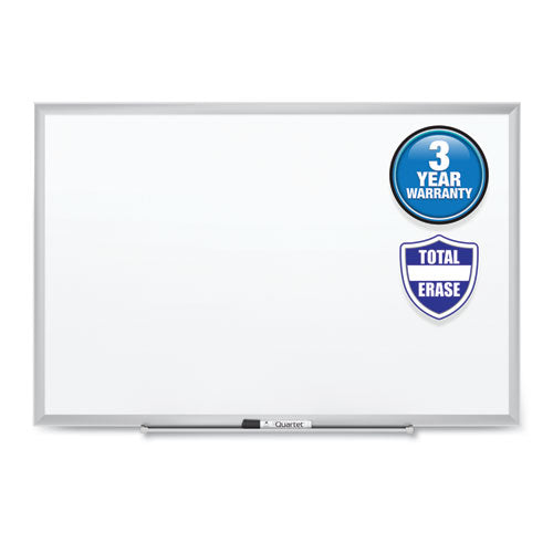 Classic Series Total Erase Dry Erase Board, 60 x 36, Silver Aluminum Frame