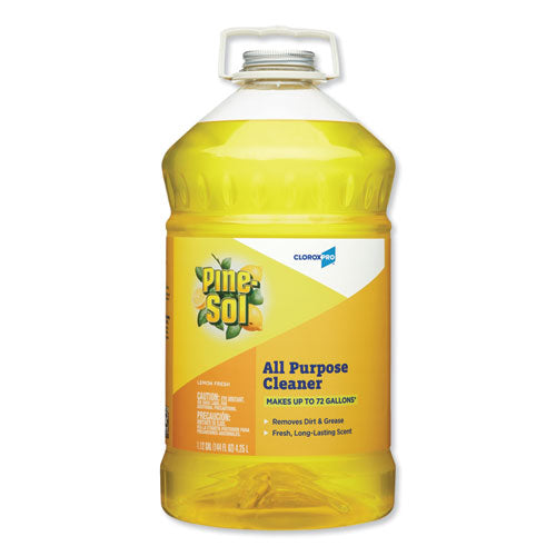 All Purpose Cleaner, Lemon Fresh, 144 oz Bottle
