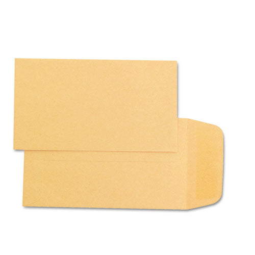 Kraft Coin & Small Parts Envelope, #1, Square Flap, Gummed Closure, 2.25 x 3.5, Brown Kraft, 500/Box