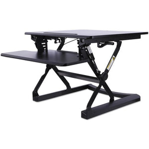 AdaptivErgo Sit-Stand Lifting Workstation, 26 3/4 x 31 x 19 5/8, Black ALE AEWR1B