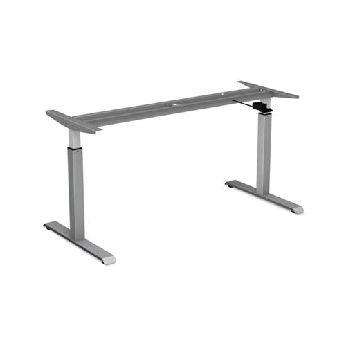 Alera AdaptivErgo Pneumatic Height-Adjustable Table Base, 26.18