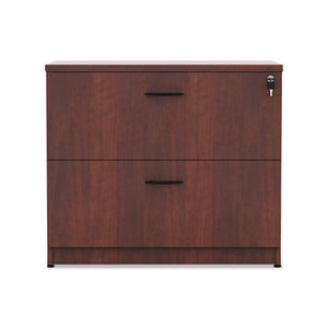 Alera Valencia Series Two Drawer Lateral File, 34w x 22.75d x 29.5h, Cherry