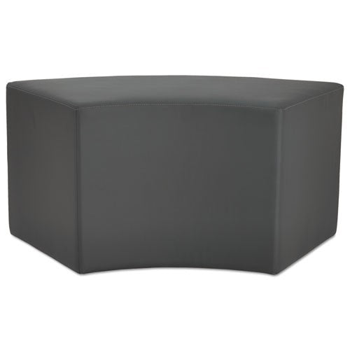 Alera Alera WE Series Collaboration Seating, Arc Bench, 38 3/8 x 21 x 18, Slate, ALE WE36ST