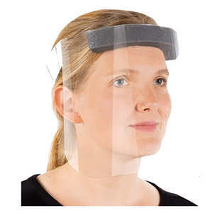 R20 Protective Face Shields with Clear Vision, Reusable, Adjustable and Anti-fog. Made in The USA