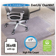 Load image into Gallery viewer, ES Robbins® 36x48 Lip Chair Mat, Performance Series AnchorBar for Carpet up to 1""