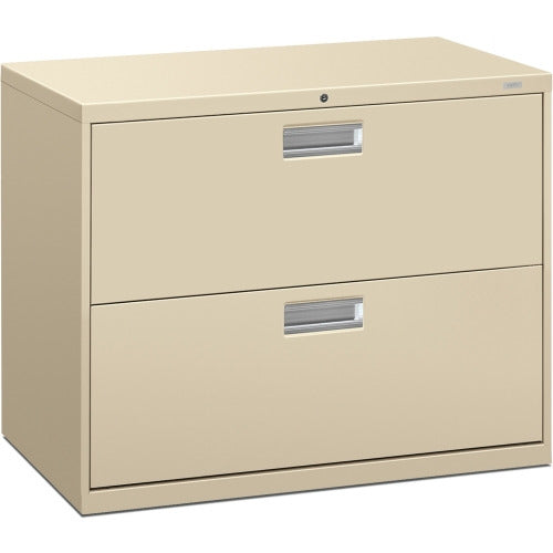 HON Brigade 600 Series 2-Drawer Lateral, 2 x Drawer(s) for File - A4, Legal, Letter
