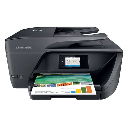 HP OfficeJet Pro 6968 Color Inkjet All-In-One Printer
