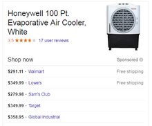 Load image into Gallery viewer, Honeywell CO48PM: 1062 CFM 2 speed Portable Cooler for 600 sqft