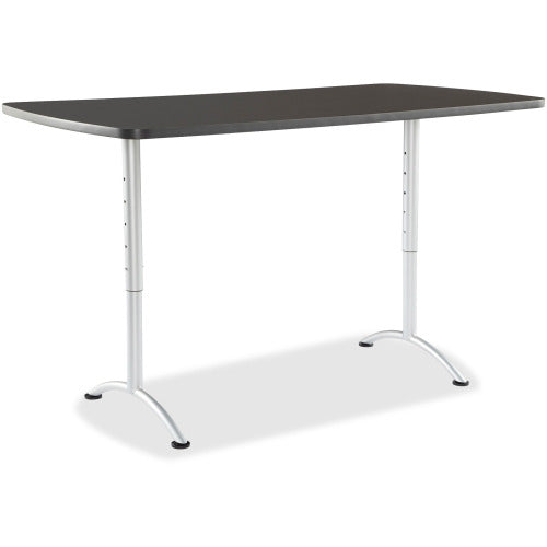 Iceberg Utility Table, Rectangle Top - ASSEMBLED