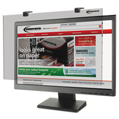 "Innovera® Protective Antiglare LCD Monitor Filter, Fits 24"" Widescreen LCD, 16:9/16:10"
