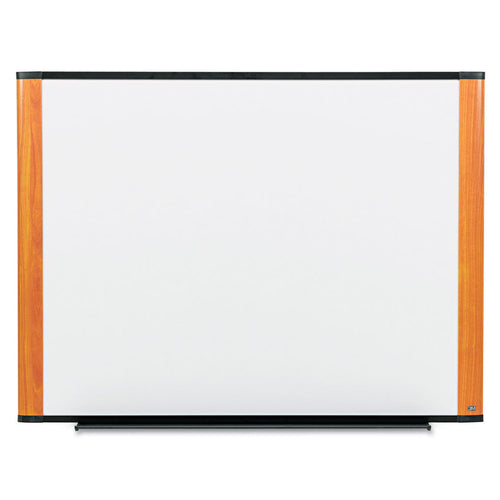 3M Melamine Dry Erase Board, 72 x 48, Light Cheery frame
