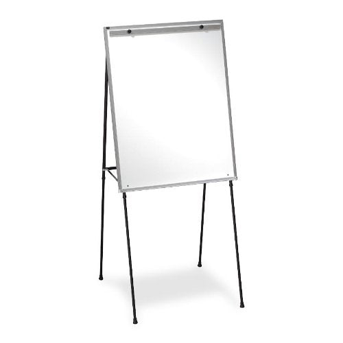 Quartet® Steel Presentation Easel, Total Erase®Whiteboard/Flipchart, 29
