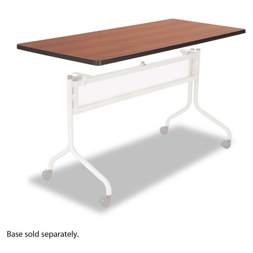 Impromptu Series Mobile Training Table Top, Rectangular, 60w x 24d, Cherry SAF 2066CY