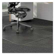 Load image into Gallery viewer, Universal® Studded Chair Mat for Low Pile Carpet, 46 x 60, Clear