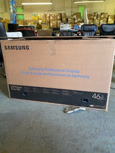 "Load image into Gallery viewer, $3200 Samsung	UH46N-E	46"" 1920x1080 Extreme Narrow Bezel LED LCD display - TAA 24/7"