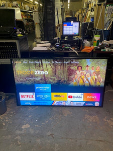 "Sharp 60"" 1920x1080 LED edge lit LCD monitor Landscape or Portrait. No Remote"