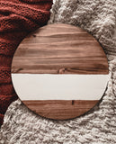 Circle Wood Wall Hanging