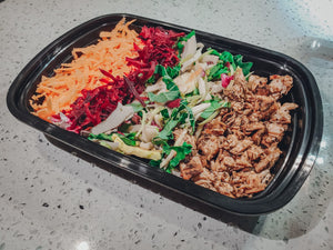 bbq chicken power bowl