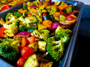 oven roasted vegetables - my-fit-meals