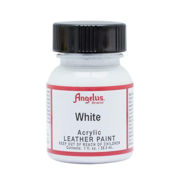 ANGELUS Leather Paint 1oz - White