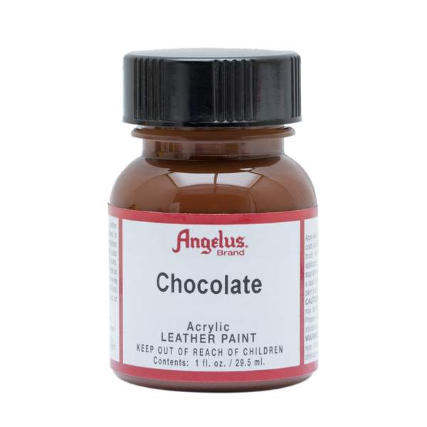 ANGELUS Leather Paint 1oz - Chocolate Brown