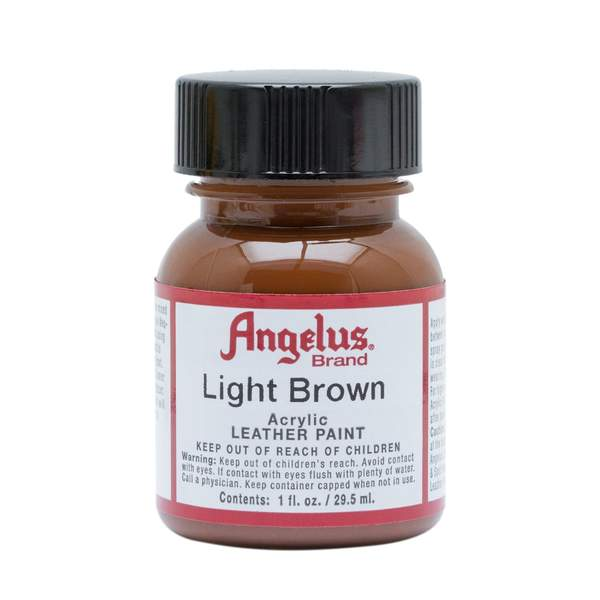 ANGELUS Leather Paint 1oz - Light Brown