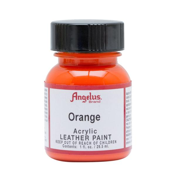 ANGELUS Leather Paint 1oz - Orange