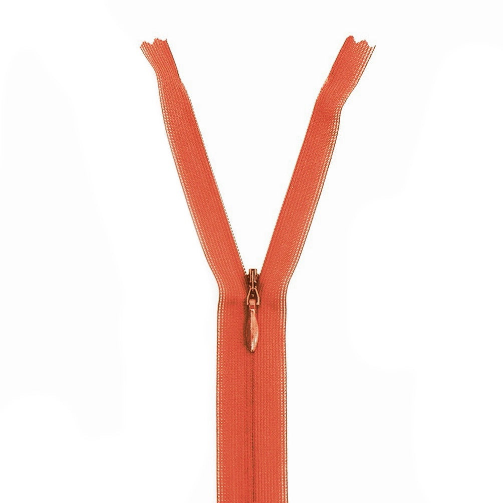 Invisible Zipper - Orange 060