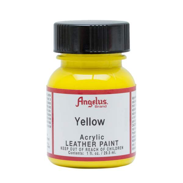 ANGELUS Leather Paint 1oz - Yellow