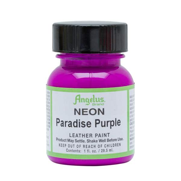 ANGELUS Leather Paint 1oz - Neon Paradise Purple