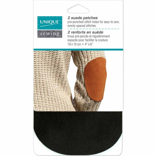 UNIQUE Leather and Suede Elbow Patches (2-pack)